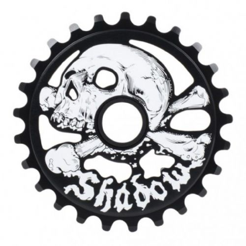Shadow Cranium Sprocket - Black 28 Tooth